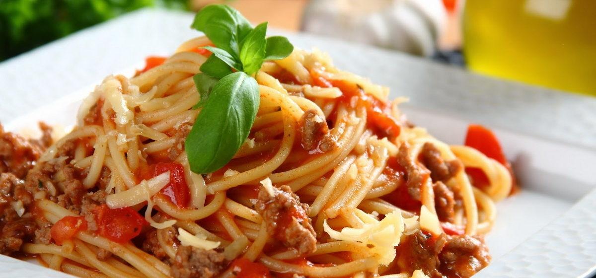 Вкусно и просто. Спагетти под соусом «А-ля Болоньезе»