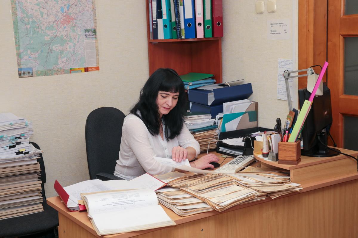 работник архива