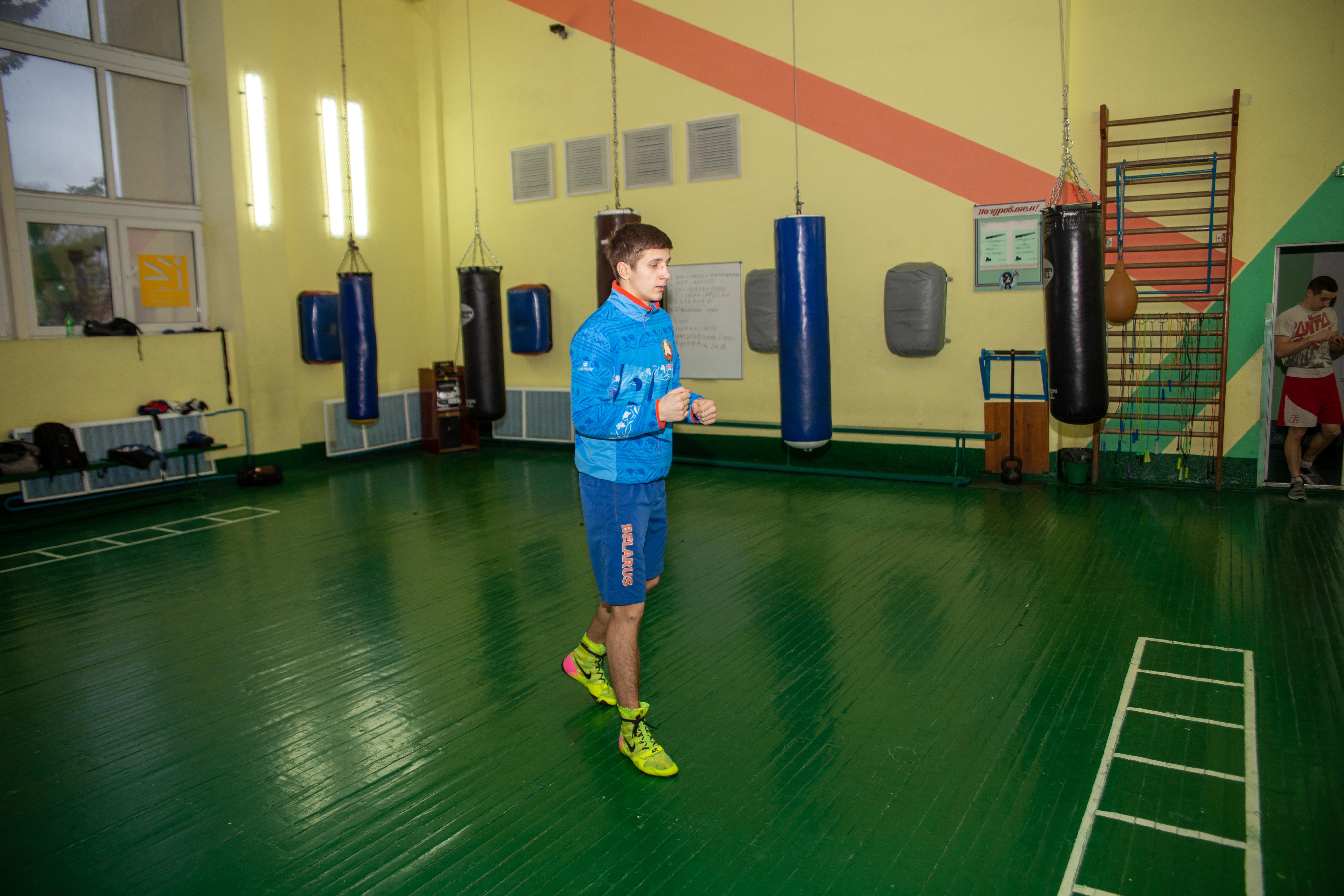 Андрей Викторович на первой тренировке после завоевания чемпионского титула. Фото: Андрей БОЛКО