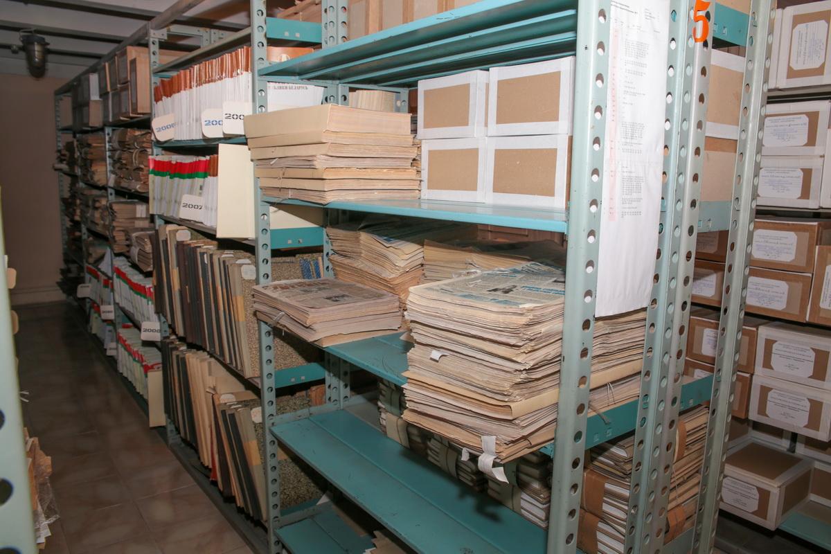 архив, газеты хранилище