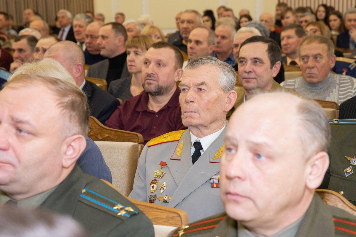 Торжественное собрание ,посвященное 31-й годовщине вывода войск из Афганистана. Фото: Ольга ГУТОВСКАЯ