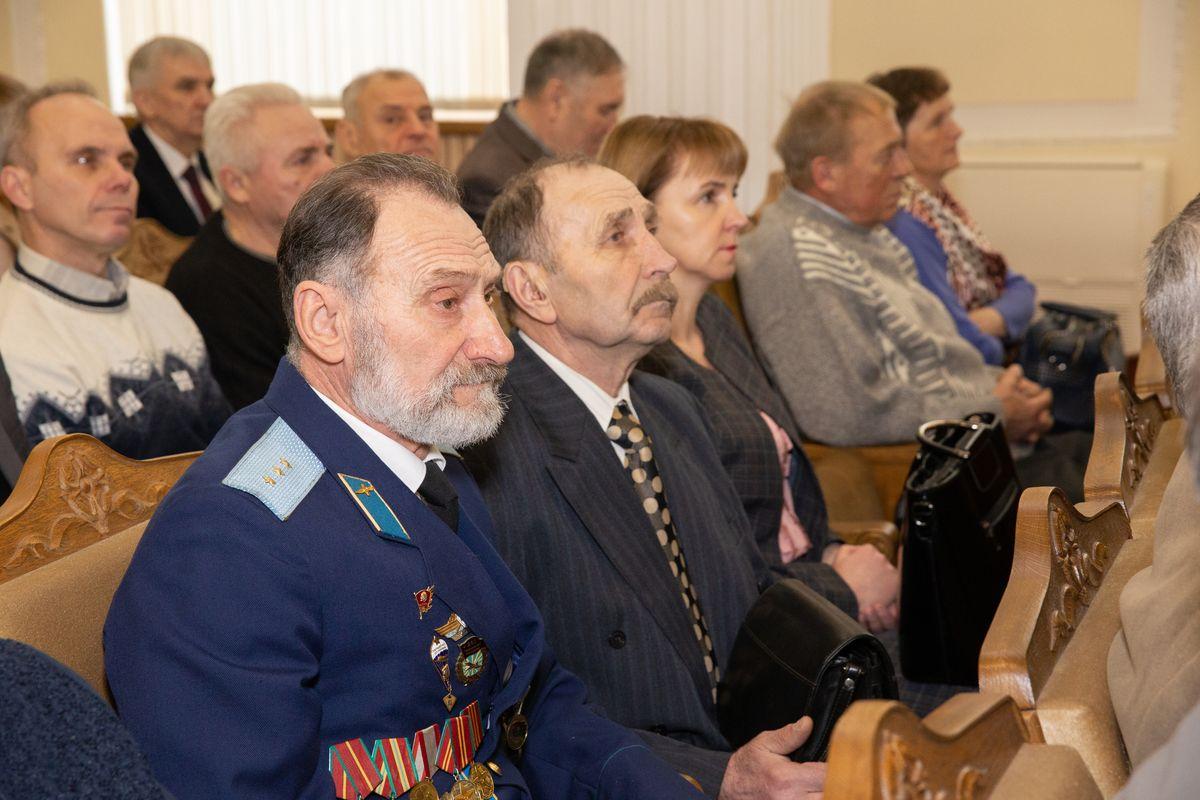 Торжественное собрание, посвященное 31-й годовщине вывода войск из Афганистана. Фото: Ольга ГУТОВСКАЯ