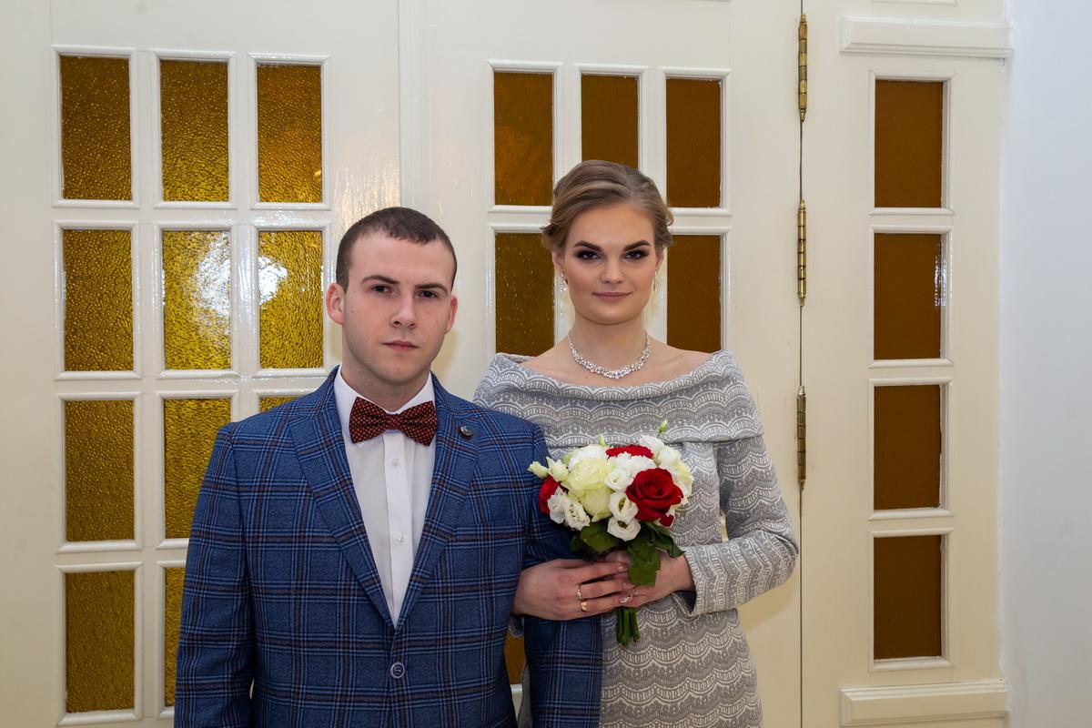 Евгений Реут и Татьяна Федорако стали мужем и женой 14 февраля. Фото: Андрей БОЛКО