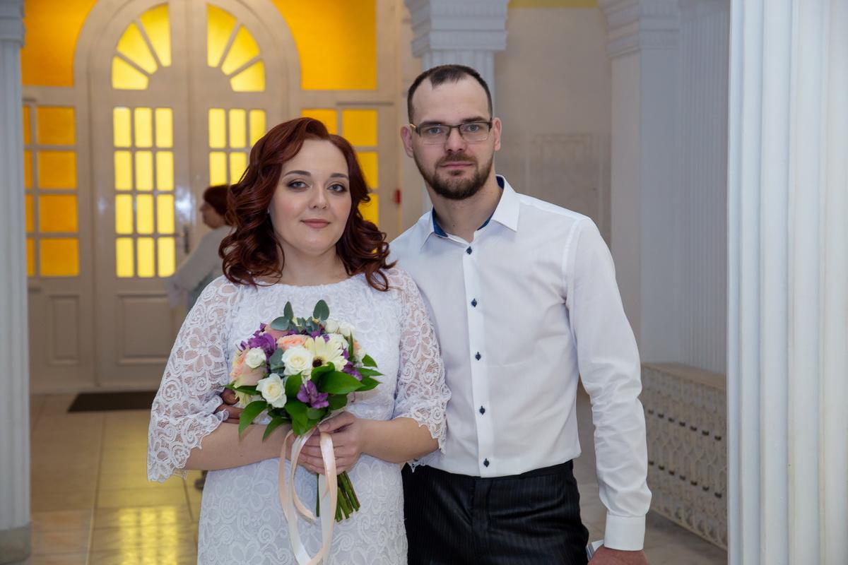 Ольга Банцевич и Денис Козека создали семью в День святого Валентина. Фото: Андрей БОЛКО