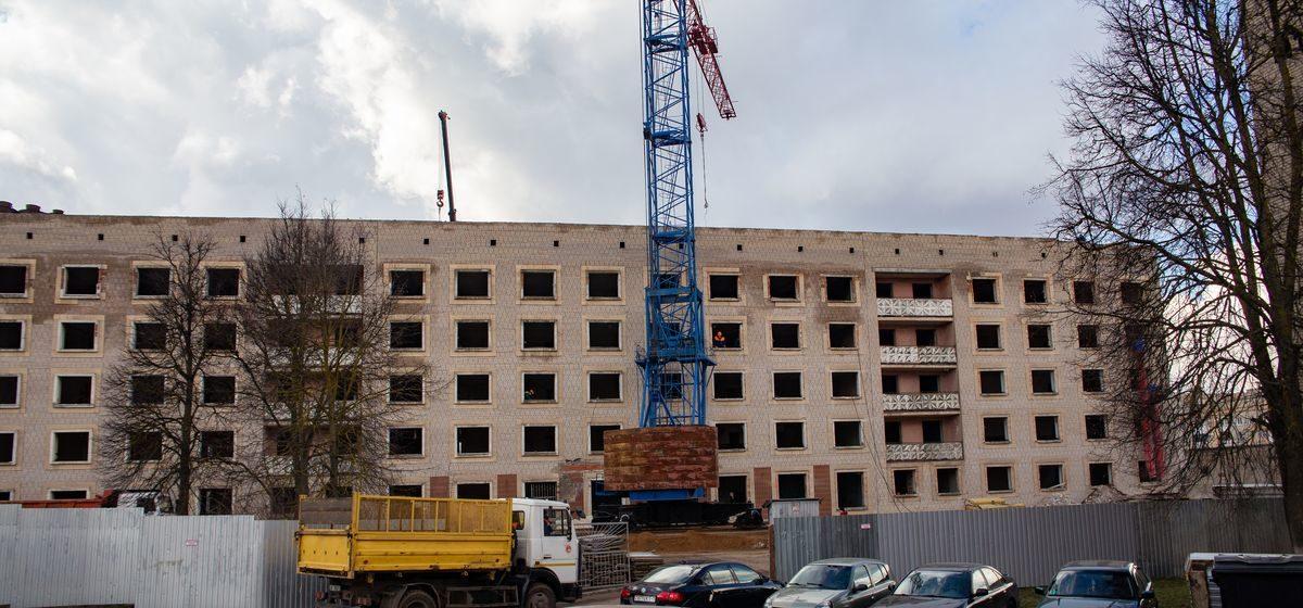 Реконструкция бывшего общежития началась в Барановичах. Что там будет?