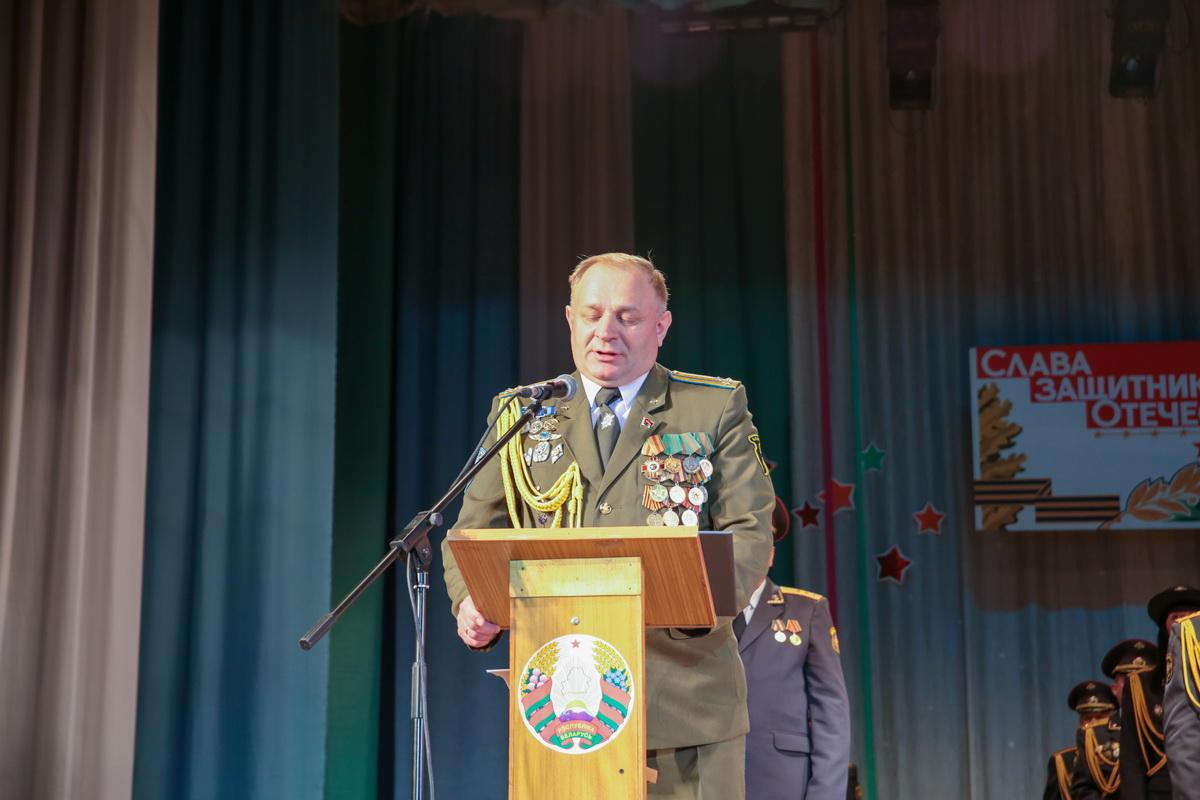 Юрий Пыжик – командир 61-й истребительной авиационной базы. Фото: Андрей БОЛКО