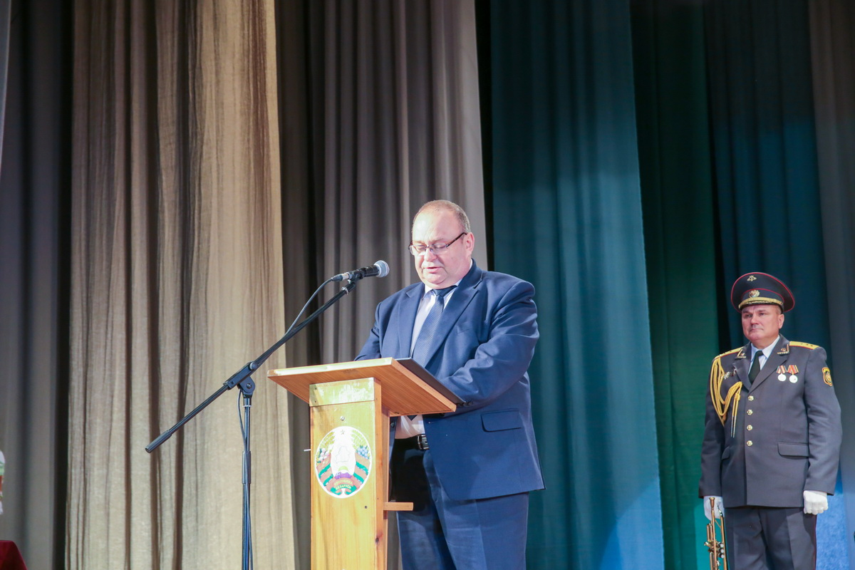 Председатель Барановичского горисполкома Юрий Громаковский. Фото: Андрей БОЛКО