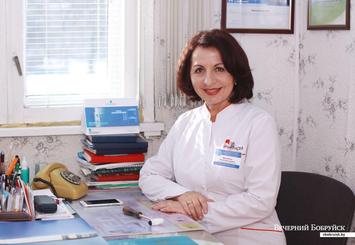 Врач- невролог Нина Матвейчик.  Фото: Денис  СУДНИК, «Вечерний Бобруйск»