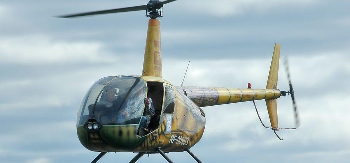 В Ярославской области вертолет задел ЛЭП и упал — пострадал пилот