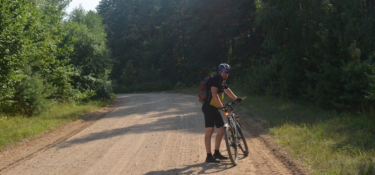 Житель Барановичей путешествует на велосипеде по всей стране и своими снимками делится в Instagram