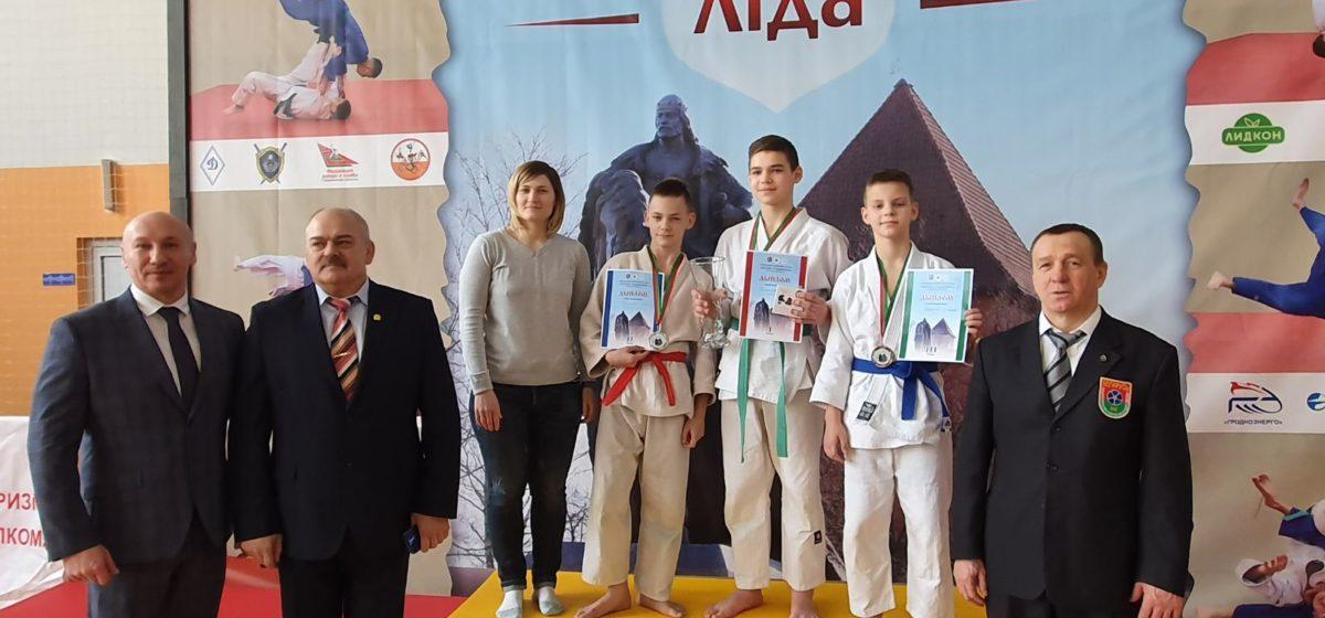 Юные дзюдоисты Барановичей отличились на международном турнире