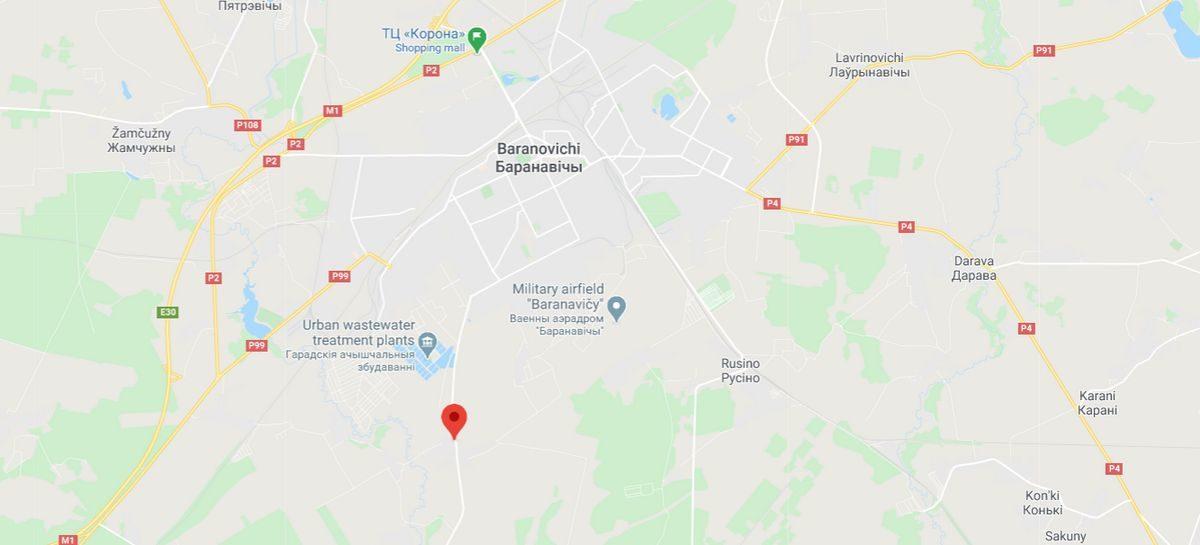 Мужчина погиб на пожаре в Барановичском районе