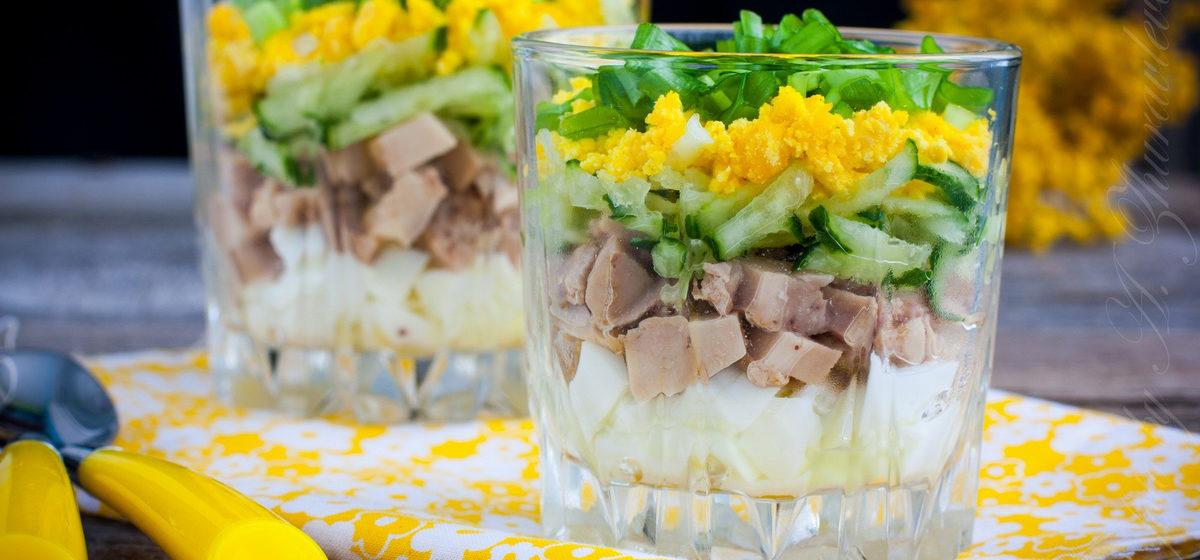 Вкусно и просто. Салат из печени трески