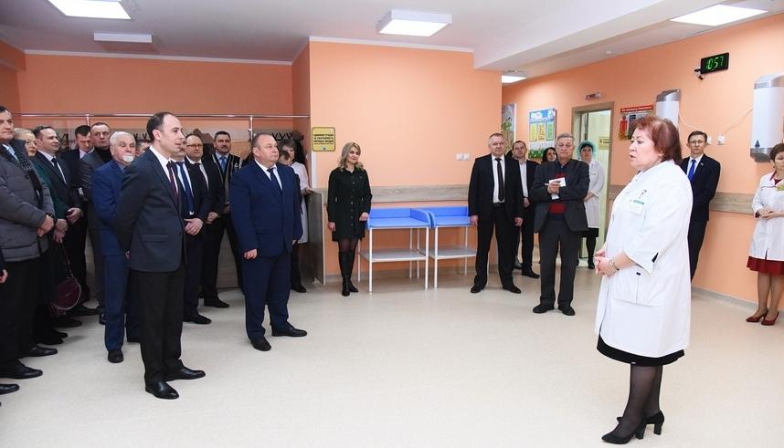 В Барановичах после реконструкции открылась детская поликлиника