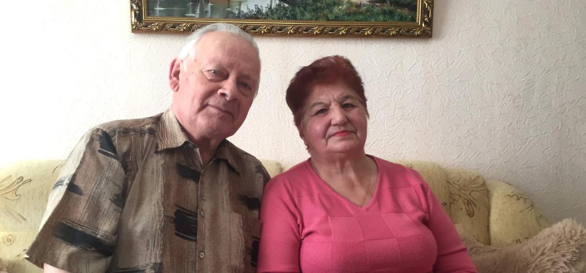 Изумрудная свадьба. Красивая история любви супружеской пары из Барановичей, прожившей вместе 55 лет