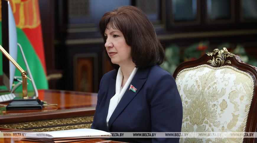 Кочанова: В Беларуси не будут приостанавливать работу предприятий в связи с коронавирусом