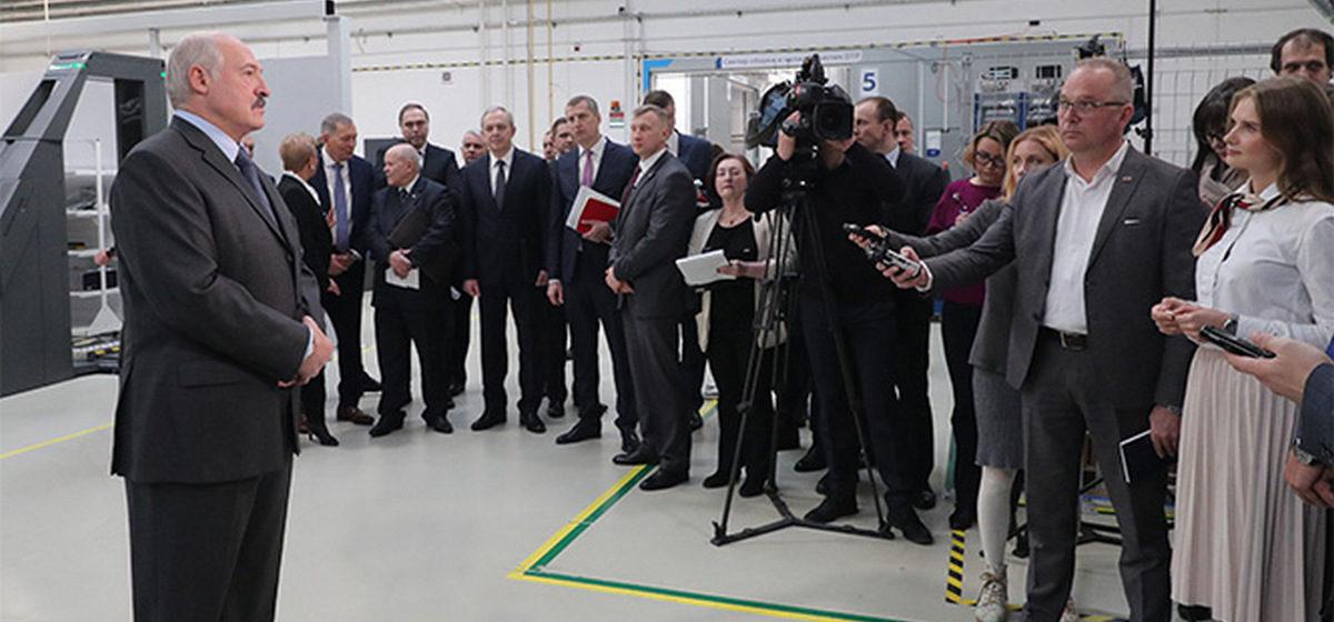 Лукашенко о финансовом кризисе: «Мы уже туда одной ногой вступили»