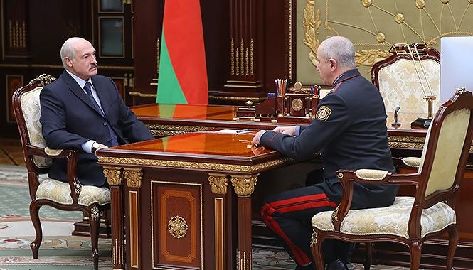 Лукашенко приказал милиции бороться с коронавирусом: «Без милиции мы никак. Но не надо никого хватать, не надо никого напрягать»