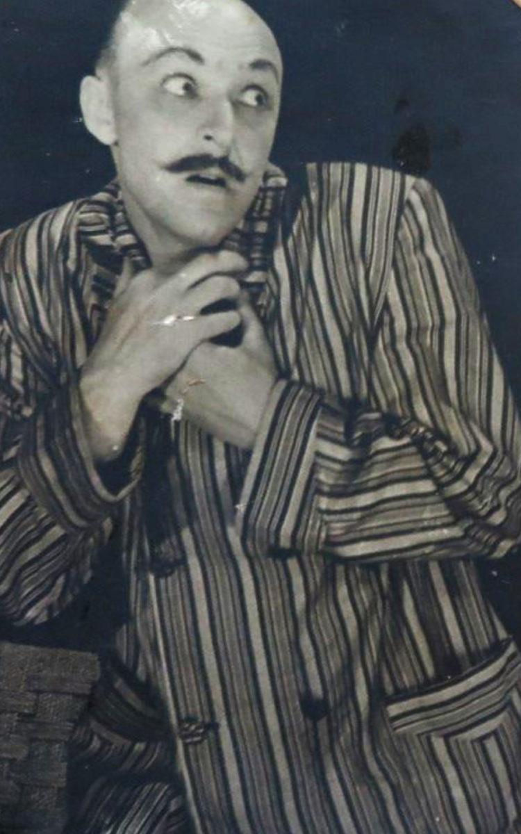 Фото актеров Барановичского областного театра, предоставлено Зональным государственным архивом в г. Барановичи