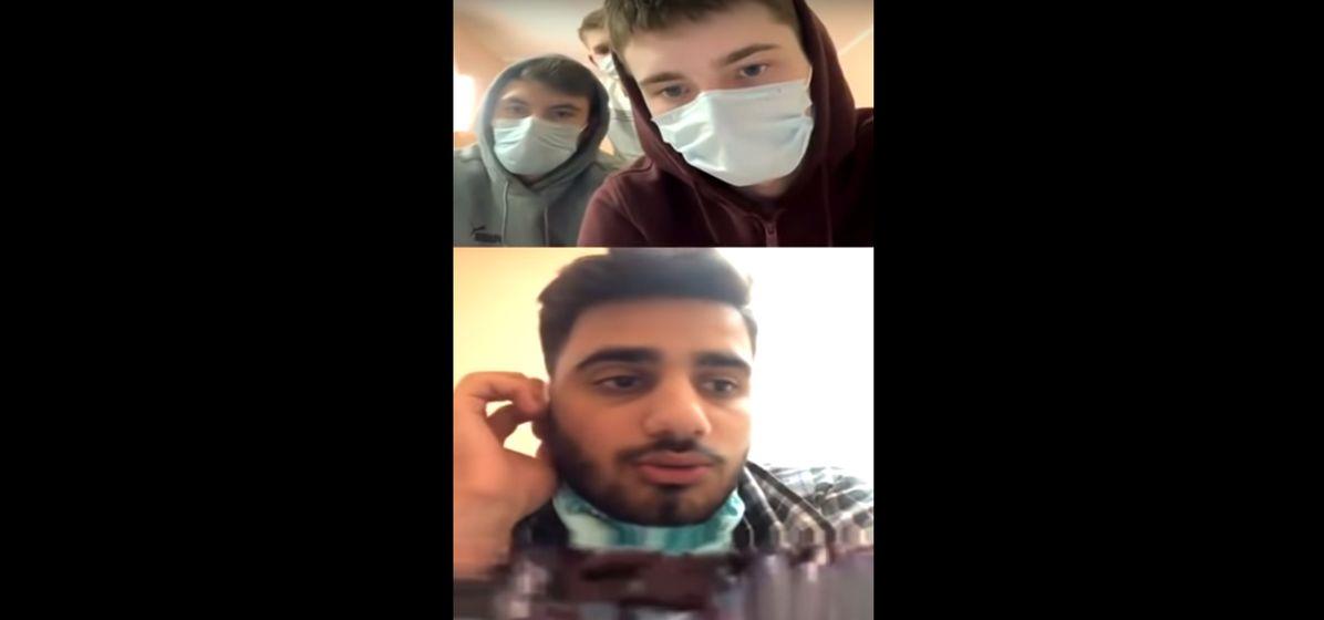 Иранец, зараженный коронавирусом, в прямом эфире рассказал, что происходит в больнице. Видео