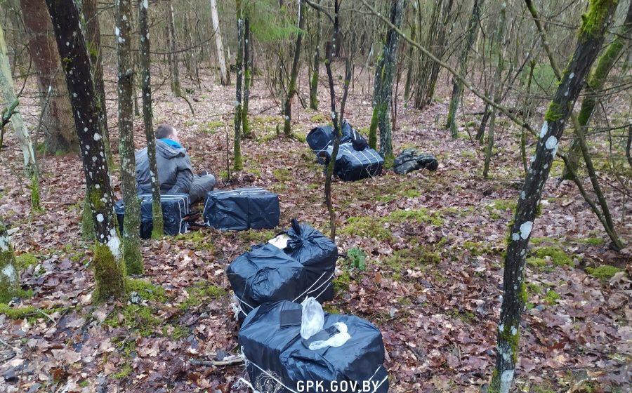 Белорусским пограничникам пришлось стрелять, чтобы задержать контрабандиста