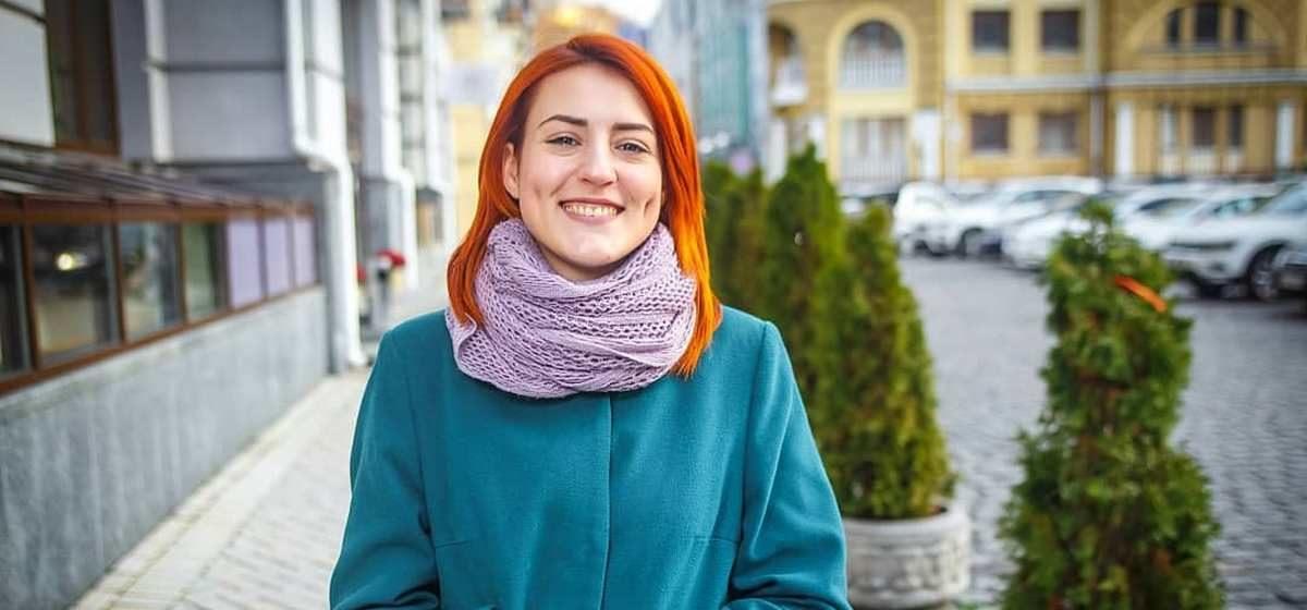 Алена Серикова в Киеве. Фото: личный архив