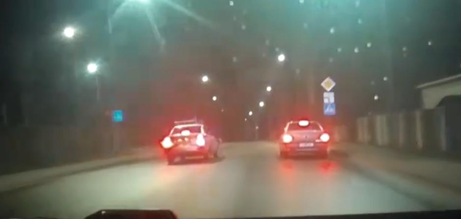 В Барановичах задержали пьяного водителя. Есть видео погони