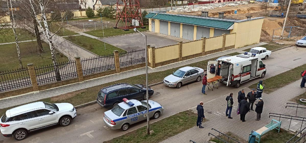 Пожилой мужчина упал с седьмого этажа в Барановичах