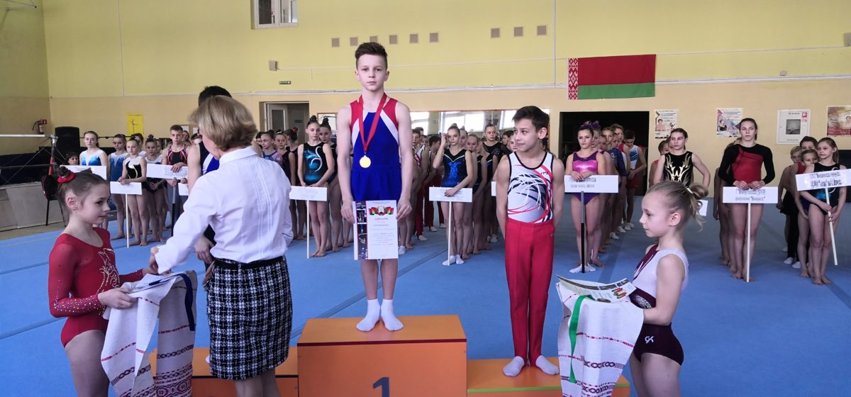 Сколько наград привезли юные гимнасты Барановичской СДЮШОР с республиканской Спартакиады?