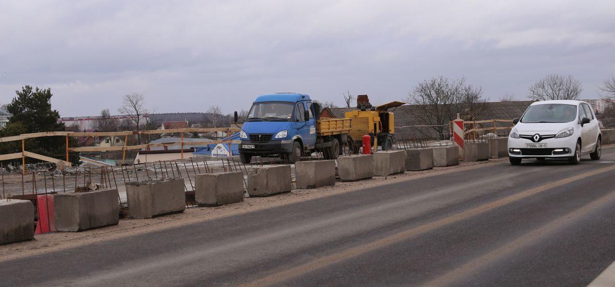 В понедельник, 2 марта, в Барановичах вновь перекроют «Полесский» путепровод