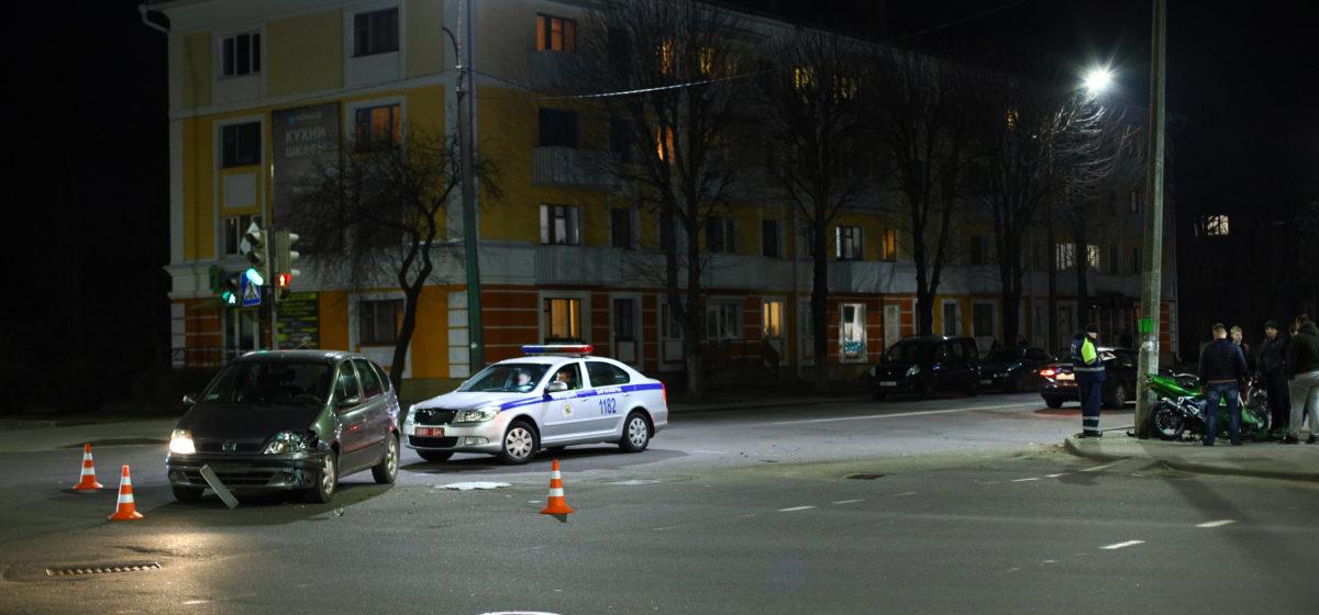 Renault и Kawasaki столкнулись в Барановичах