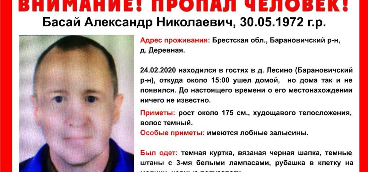 Мужчина ушел из гостей и пропал в Барановичском районе. «Ангелы» собирают добровольцев на его поиски