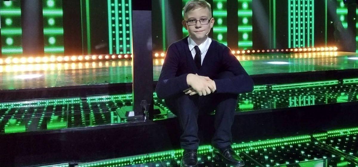 Шестиклассник из Барановичей занял третье место в телешоу «Я знаю!»