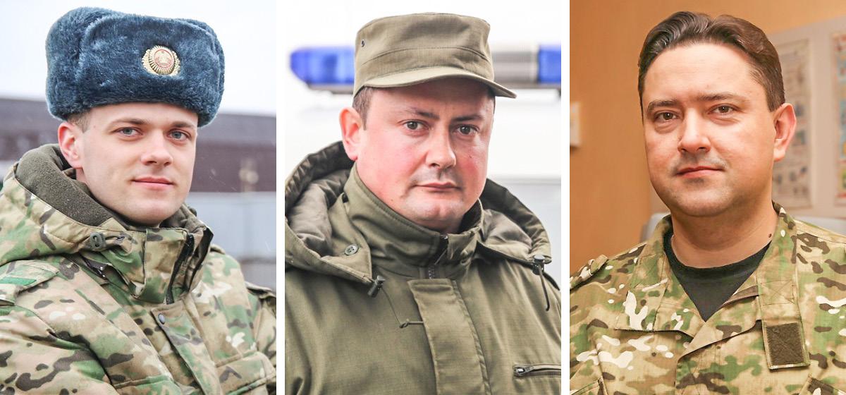 Виктор Стасев, Михаил Кучмарев, Николай Волошин.