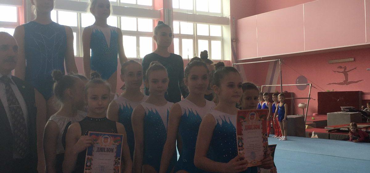 Как выступили наши гимнасты на областном турнире в Барановичах