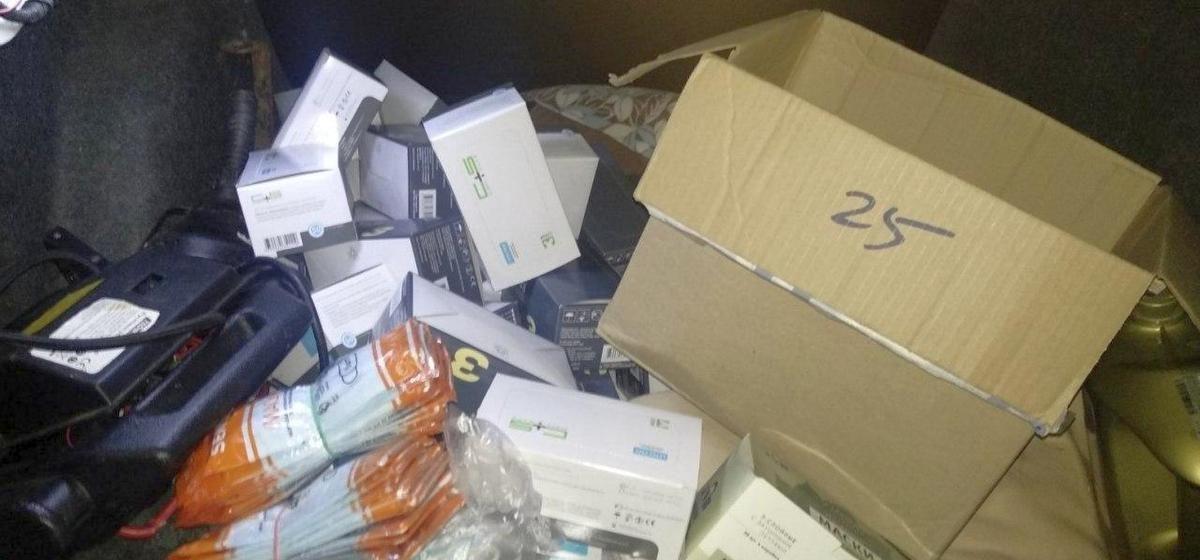 Милиция изъяла 12 000 медицинских масок, которые перепродавал минчанин через соцсети