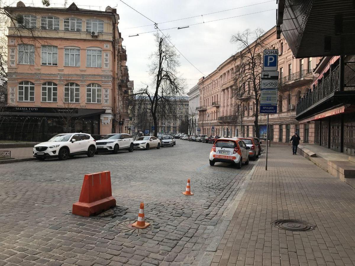 Улицы Киева во время карантина. Фото: Алена Серикова