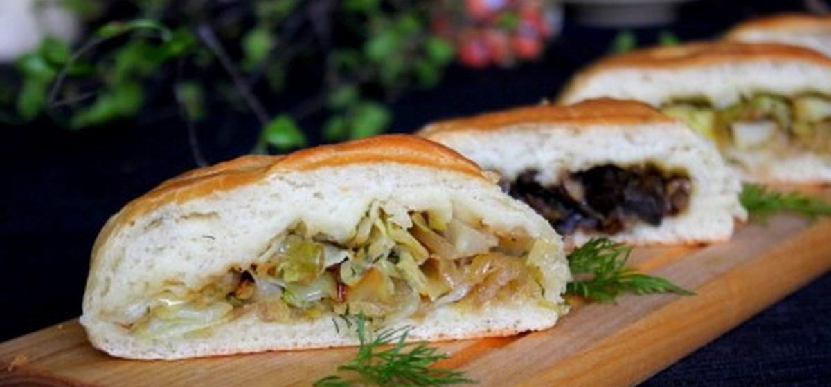 Вкусно и просто. Постные пироги с капустой и грибами
