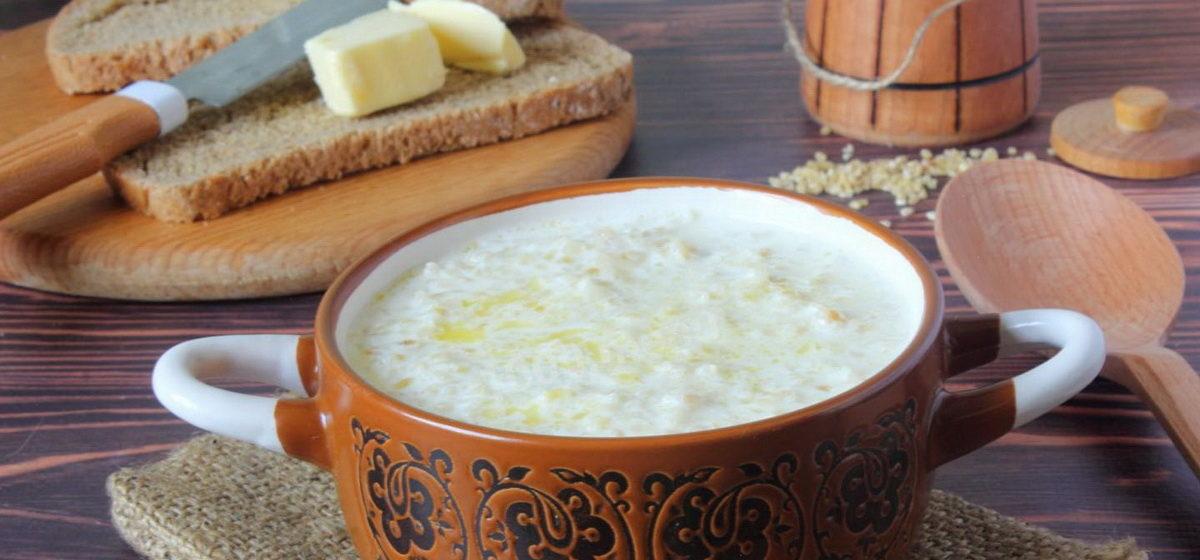 Вкусно и просто. Пшеничная каша на молоке в мультиварке
