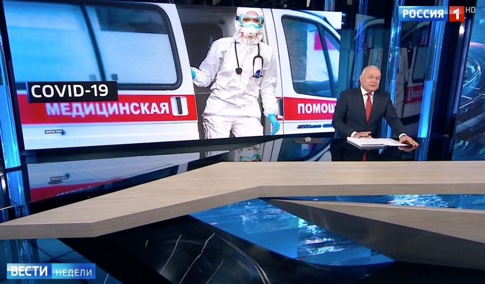 Телеведущий: Россия планирует закрыть границу с Беларусью по соображениям карантина
