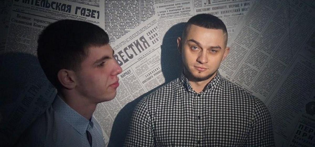 Бодибилдер и школьник из Барановичей сняли в гаражах клип на свою песню. Зацените!