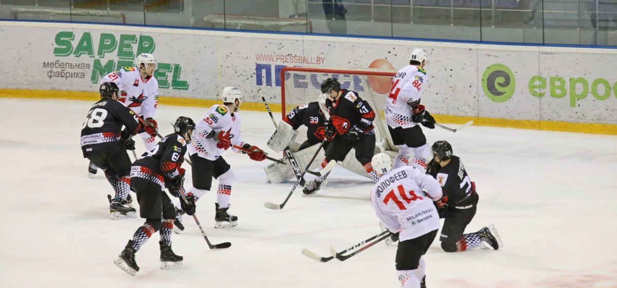 Голевая феерия в Бобруйске. Кто забил больше: хоккеисты «Авиатора» или «Бобруйска»?