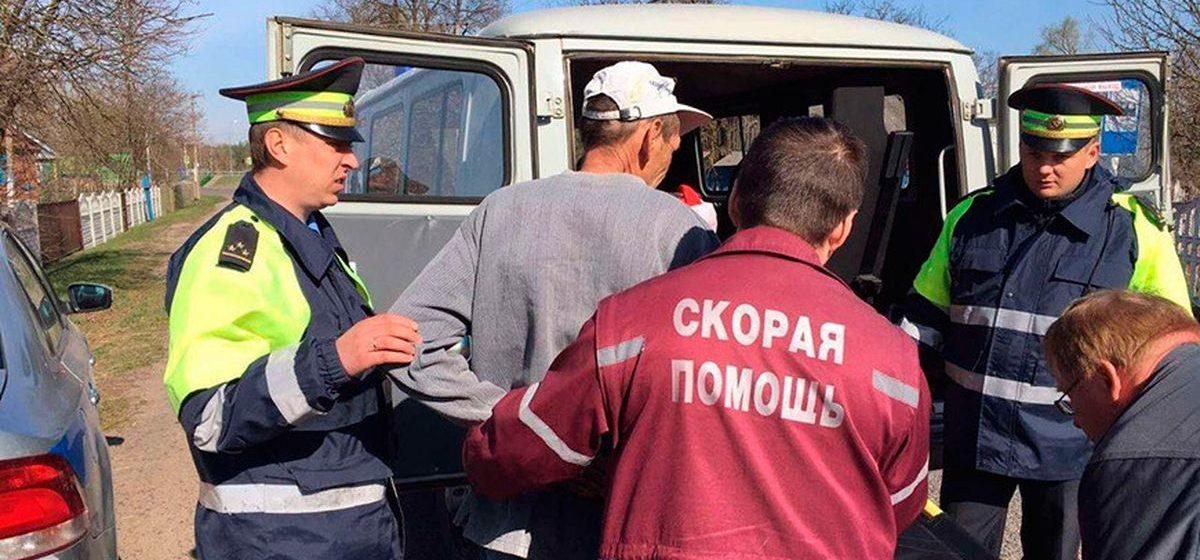 Сотрудники ГАИ спасли упавшего в колодец мужчину в Жабинковском районе