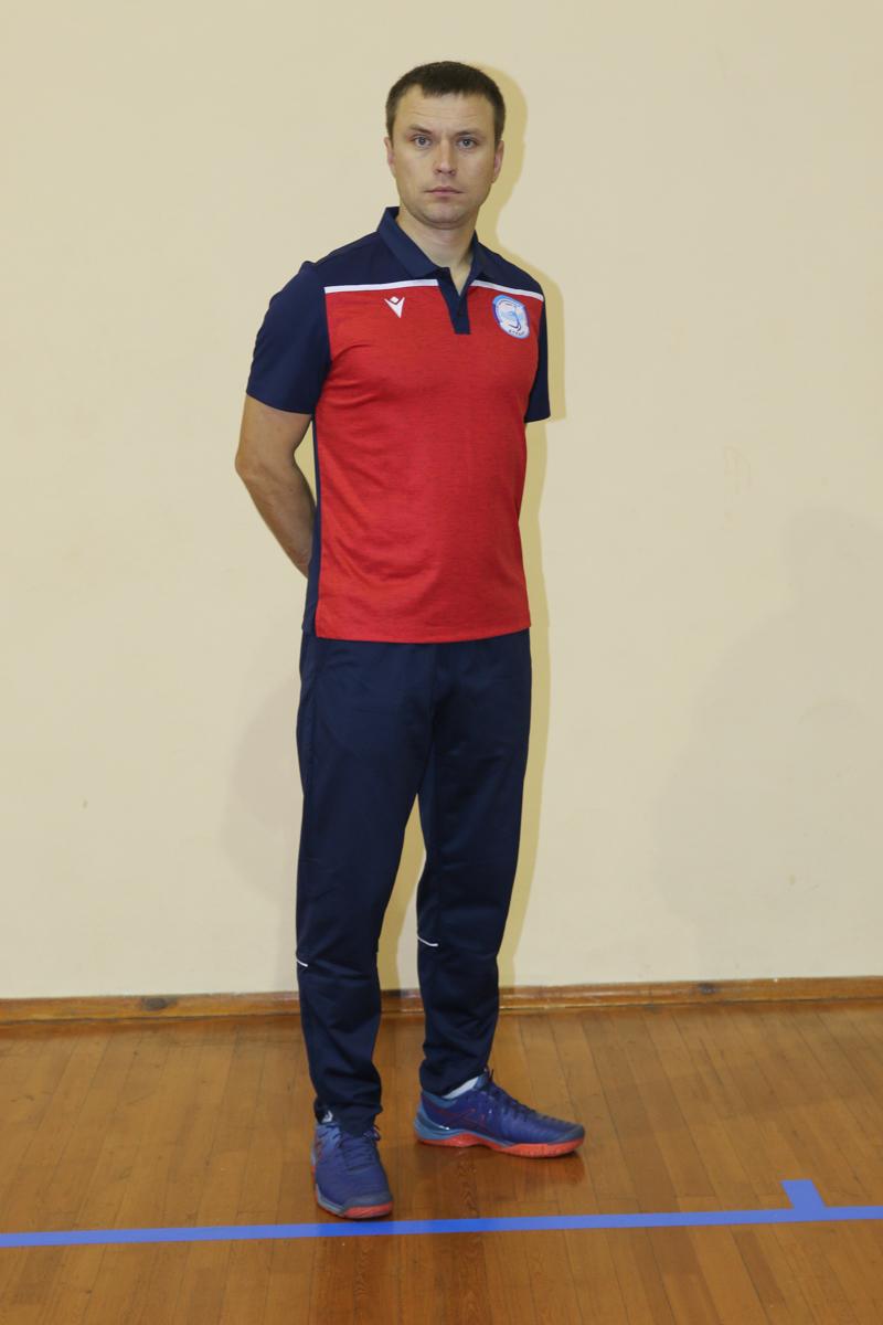 Сергей Зеленко – главный тренер «Атланта-БарГУ». Фото: Александр ЧЕРНЫЙ