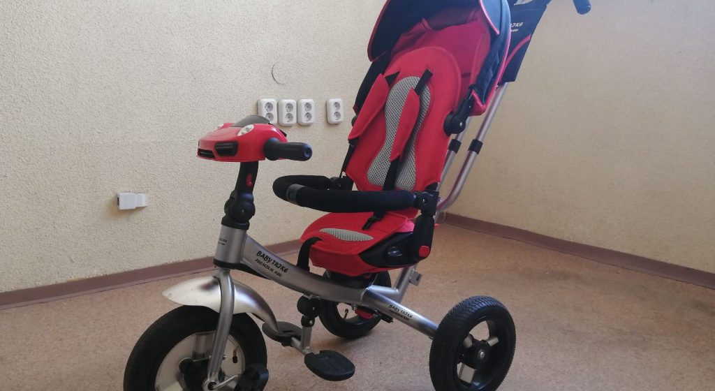 В Барановичах безработный нес в руках украденный детский велосипед, но повстречал милиционеров