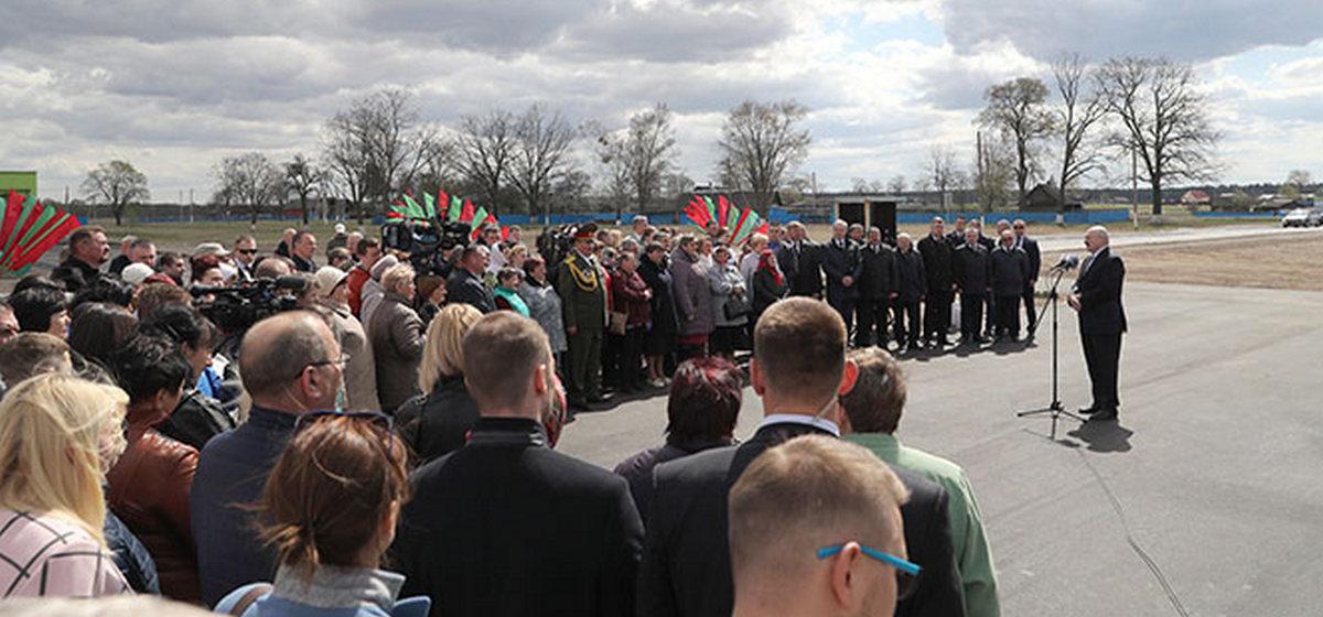 Лукашенко – о районах, пострадавших от аварии на ЧАЭС: «Пришло время очень активно осваивать этот край»
