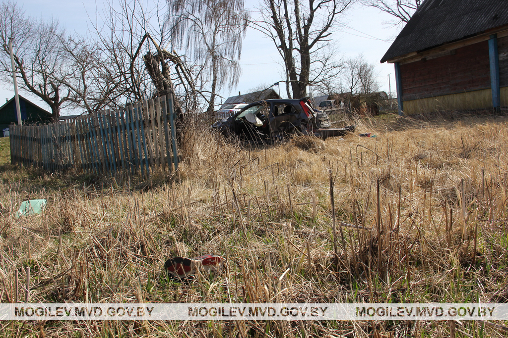 Место ДТП. Фото: mogilev.mvd.gov.by
