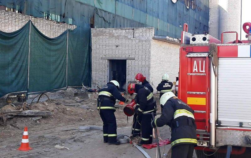 Несчастный случай произошел в здании бывшей котельной на ул. Промышленной. Фото с места трагедии читателя Intex-press