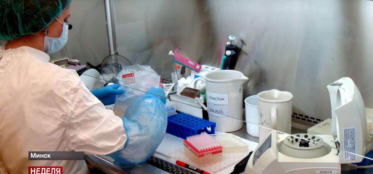 Посмотрите, как в Беларуси проводят тесты на коронавирус. Видео