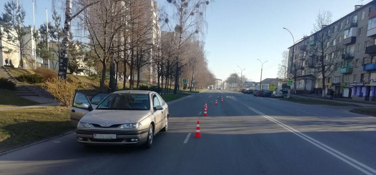 Автомобиль сбил пенсионерку на пешеходном переходе в Барановичах. Фото